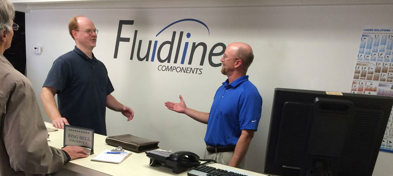 Fluidline provides excellent and personal customer service.