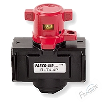 RLT Series 3-Way Lock-out Tag-out Valve by Fabco-Air